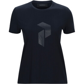 Peak Performance Ground Tee 2 t-shirt Dames blauw
